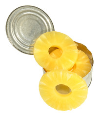 Tinned Pineapple Rings