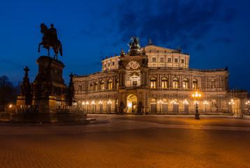 Semperoper zu Dresden