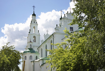Saint Sophia Cathedral in Polotsk. Belarus