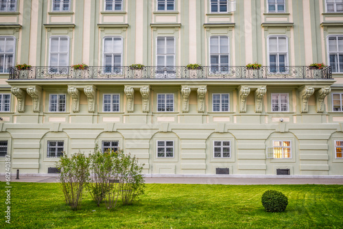 Balcony at the Hofburg Palace in Vienna