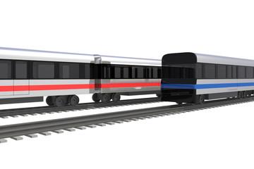 電車のローアングル