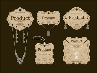 Jewerly Tags Design