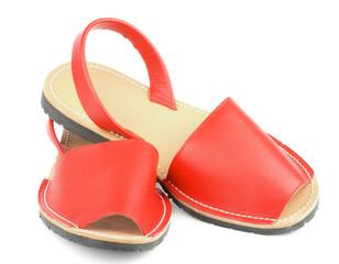 Red Sandals Avarcas