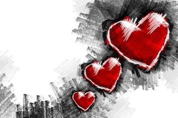 Heart pancil 18