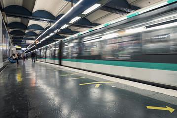 Strasbourg Saint-Denis Metro Station.