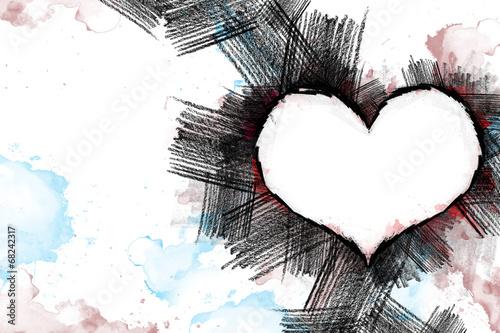 Heart pancil 21 © masked007