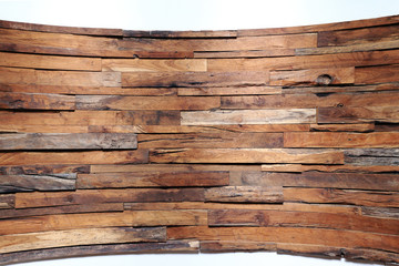 timber wood plank curve background