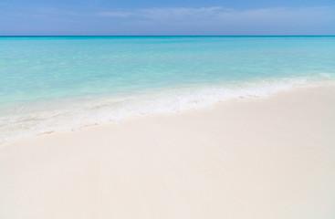 Kuba karibischer Sandstrand
