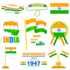 Object on India Independence day theme