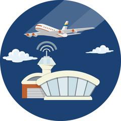 Airport. Passenger terminal
