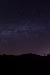 Milchstraße über Vulkan Teide und Roques de Garcia auf Teneriffa