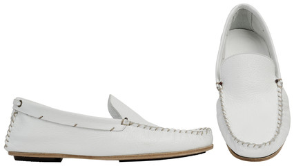 White male shoes