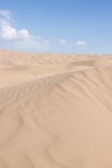 Tengger desert scenery,Inner Mongolia, China