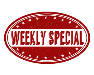 Weekly special stamp