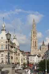 Einkaufsstrasse in Antwerpen