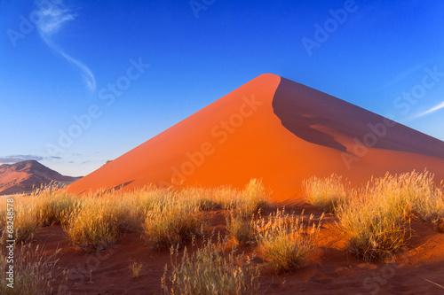Papiers peints Afrique du Sud Sunset dunes of Namib desert, Sossusvlei, Namibia