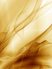 Pattern golden light unusual abstract background