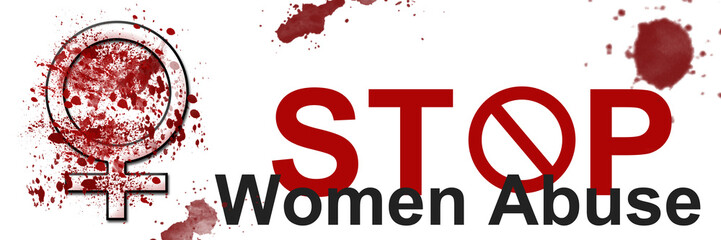 Stop Women Abuse Banner