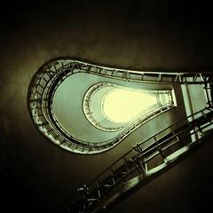 Stairs in Prague