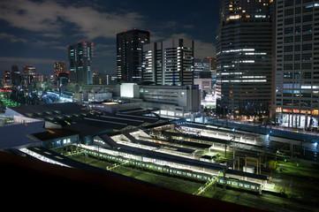 東京都、都市の夜景