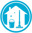 cleaning house icon - 68250108