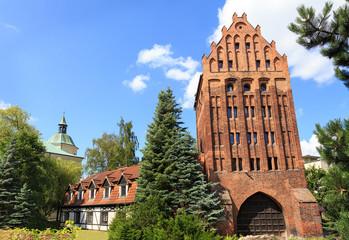 Brama Młyńska (Mill Gate) w Słupsku