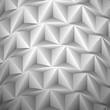 выпуклый узор из треугольников