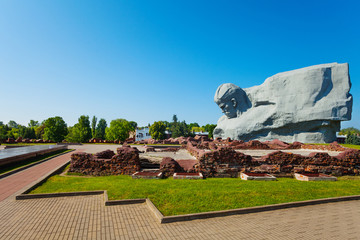 Memorial fortress and park in Brest Fortress