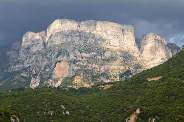 Astraka peak at Pindos mountains in Greece