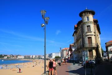 Front de mer de Saint-Jean de Luz, Pays Basque
