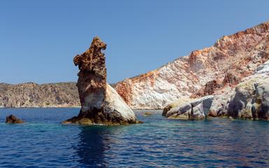 Arkoudes rocks, Milos island, Cyclades, Greece