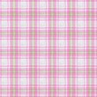 canvas print picture - Pink checkered fabric
