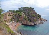 Playa de Es Codolar. Tossa de Mar. Catalunya poster
