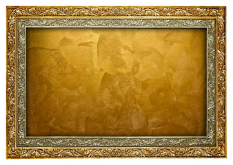 golden frame background