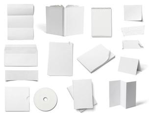 envelope book card leaflet template business