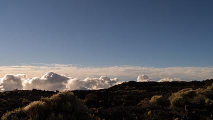 Landschaft im Teide Nationalpark auf Teneriffa