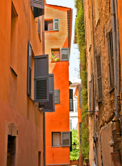 Grasse - Architecture of Grasse Town