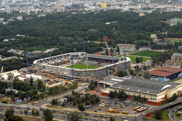 Stadium Legia construction