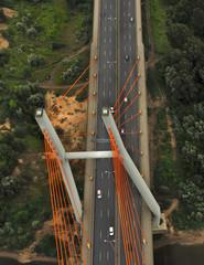 Bridge aerial view