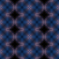Kaleidoscopic storm seamless generated texture