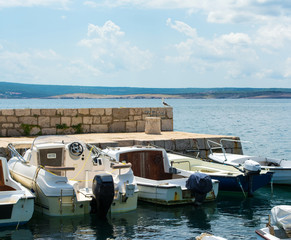 Small Mediterranean port