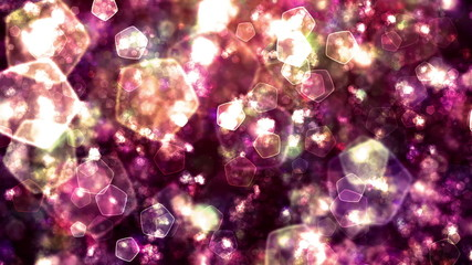 HEAVENLY GLITTERING PARTICLES