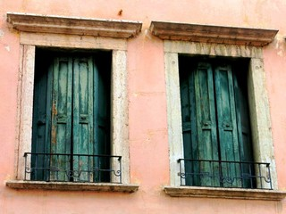 Italian Dark Windows Closed