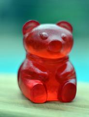 Giant gummy bear.