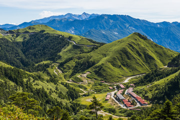 Alpine scenery from Taiwan