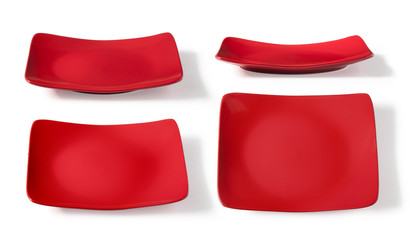 square red plate