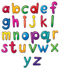 Letters of the alphabet artwork