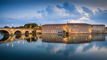 Toulouse - Pont Neuf et Hôtel-Dieu