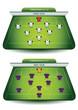 Soccer team formations - 68260532