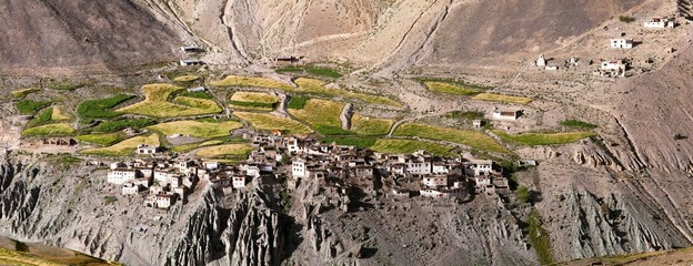 Photoksar village - Zanskar trek - Ladakh - India